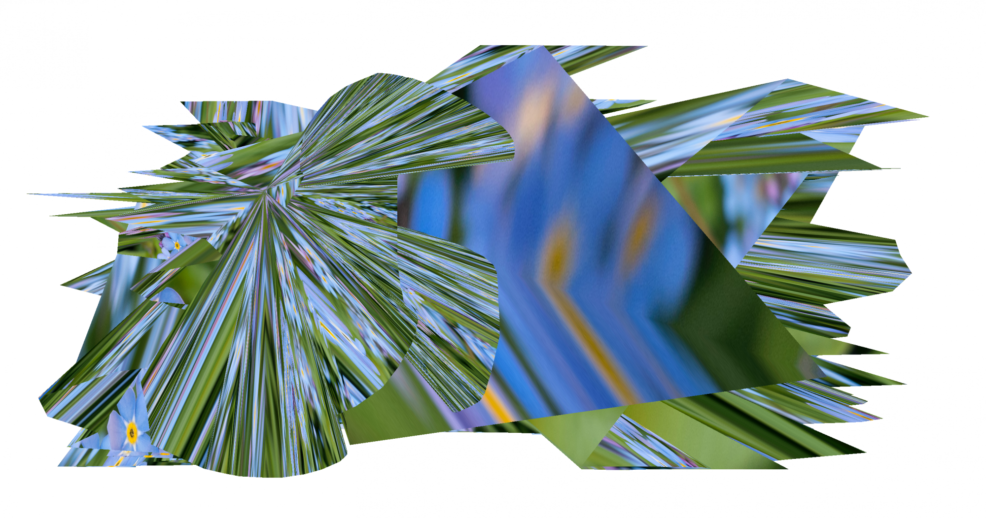 """Digit-Windland /  """"Digit-Windland"""" is a visual research by Yun Kuo and it is inspired by how plants move with wind."""