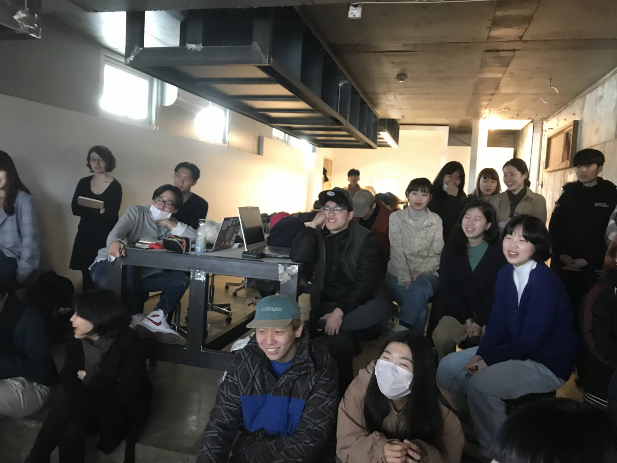 SfVR Workshop at Paju Institute of Typography