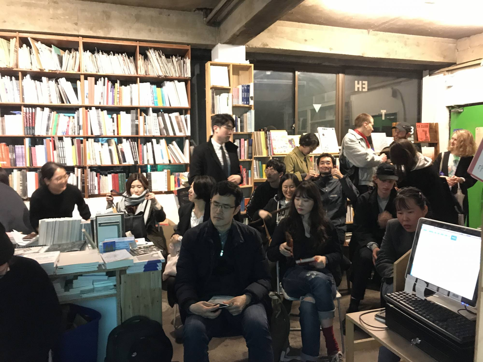 SfVR Release at Book Society Seoul