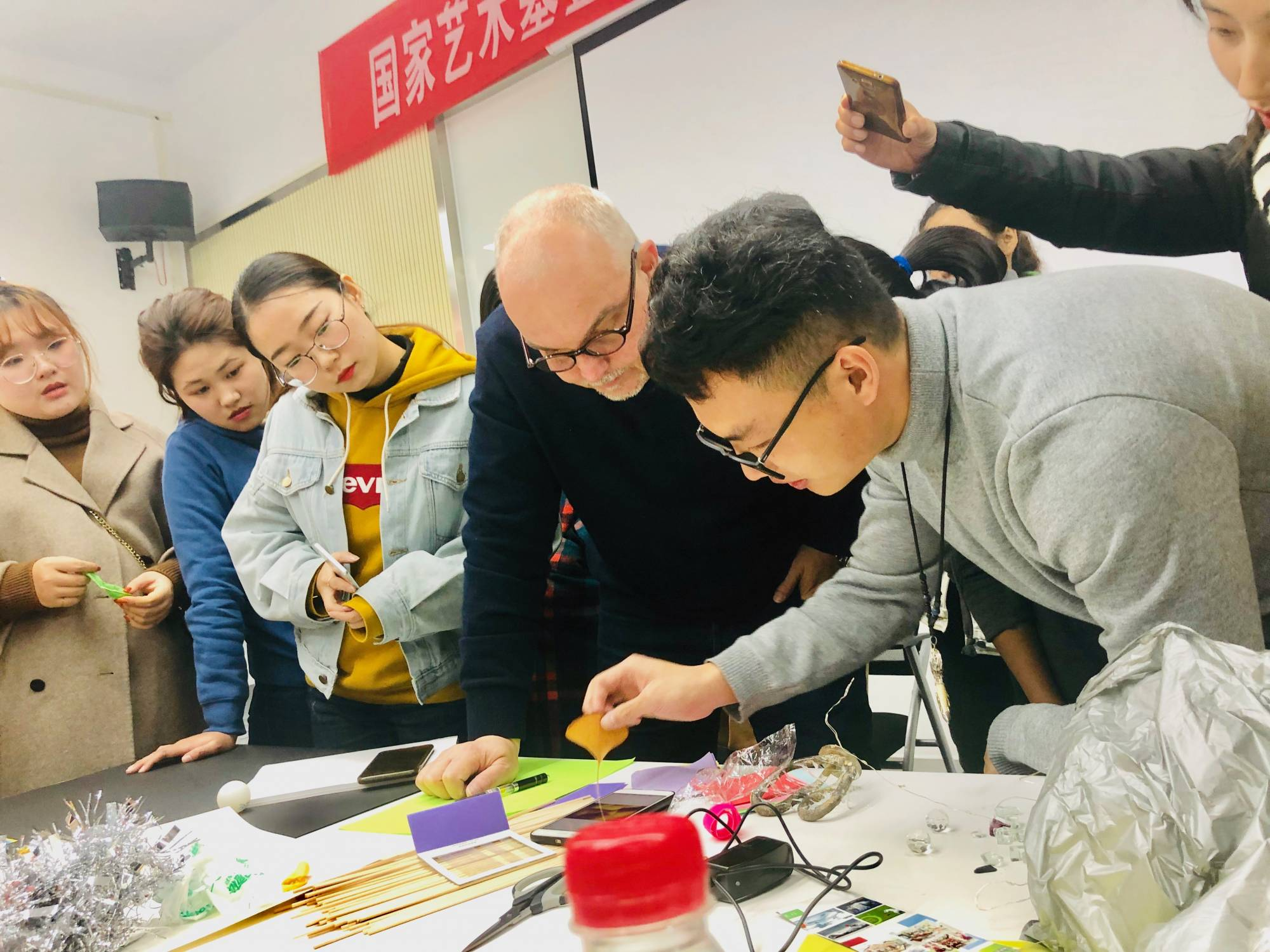 Workshop Hubei University of Technology